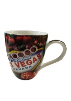 GAMING- LAS VEGAS JUMBO MUG mug, coffee, las vegas, vegas themed,