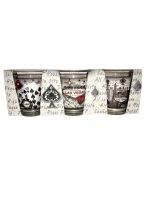 GREY SHOT GLASS SET