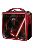 KYLO REN TIN LUNCH BOX kylo ren, starwars, star wars, lunch, box, souvenirs