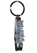 SKYLINE NAIL CLIPPER KEYCHAIN