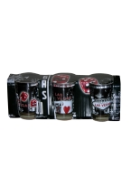 FABULOUS LAS VEGAS SHOT GLASS 3 PACK
