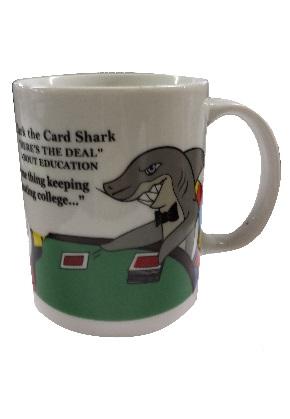 Mugs, Card Shark Design