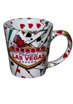 MUG ALL OVER CARDS mug, mugs, playing cards, gifts, las vegas