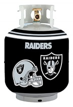 Raiders Propane Tank Cover/5 Gal. Water Cooler Cover