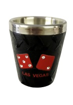 LV RHINESTONE DICE SHOT GLASS shot glass