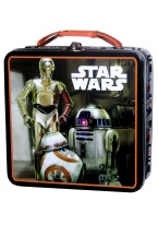 STAR WARS TIN LUNCH BOX lunch box, tin, star wars, lunch, box