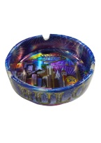 FABULOUS LAS VEGAS ASHTRAY METALLIC COLOR