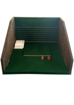 CRAPS THROWING STATION Craps, dice control, tossing dice, throwing station.