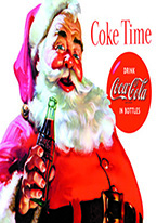 COKE - SANTA - COKE TIME Dogs Playing Poker, Batman, Bettie Page, Marilyn Monroe, Elvis, Indian Motorcycles, Three Stooges, Marvel, Superman, Spiderman, Iron Man, Captain America, Phillips 66, Farmall, Don?t Tread on Me, Ducks Unlimited, Louisville Slugger, Dukes of Hazard, Flintstone?s. Cowboy by Choice, Cowgirl by Choice, I Love Lucy, Moon Pie, Winchester Rifles, Colt 45, Budweiser, Vince Lombardi, Fender Stratocaster, Ford, Chevy, Mustang, Remington, Jack Daniels, Smith & Wesson, Wizard of Oz, Schonberg, Coke, Coca Cola, Budweiser, Jim Beam, Route 66, Corvette, Ford, I Love Lucy