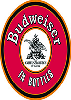 BUDWEISER - IN BOTTLES ROUND SIGN Dogs Playing Poker, Batman, Bettie Page, Marilyn Monroe, Elvis, Indian Motorcycles, Three Stooges, Marvel, Superman, Spiderman, Iron Man, Captain America, Phillips 66, Farmall, Don?t Tread on Me, Ducks Unlimited, Louisville Slugger, Dukes of Hazard, Flintstone?s. Cowboy by Choice, Cowgirl by Choice, I Love Lucy, Moon Pie, Winchester Rifles, Colt 45, Budweiser, Vince Lombardi, Fender Stratocaster, Ford, Chevy, Mustang, Remington, Jack Daniels, Smith & Wesson, Wizard of Oz, Schonberg, Coke, Coca Cola, Budweiser, Jim Beam, Route 66, Corvette, Ford, I Love Lucy