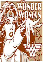 WONDER WOMEN - DUOTONE Dogs Playing Poker, Batman, Bettie Page, Marilyn Monroe, Elvis, Indian Motorcycles, Three Stooges, Marvel, Superman, Spiderman, Iron Man, Captain America, Phillips 66, Farmall, Don?t Tread on Me, Ducks Unlimited, Louisville Slugger, Dukes of Hazard, Flintstone?s. Cowboy by Choice, Cowgirl by Choice, I Love Lucy, Moon Pie, Winchester Rifles, Colt 45, Budweiser, Vince Lombardi, Fender Stratocaster, Ford, Chevy, Mustang, Remington, Jack Daniels, Smith & Wesson, Wizard of Oz, Schonberg, Coke, Coca Cola, Budweiser, Jim Beam, Route 66, Corvette, Ford, I Love Lucy