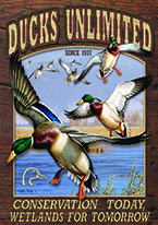 DUCKS UNLIMITED - CONSERVATION TODAY Dogs Playing Poker, Batman, Bettie Page, Marilyn Monroe, Elvis, Indian Motorcycles, Three Stooges, Marvel, Superman, Spiderman, Iron Man, Captain America, Phillips 66, Farmall, Don?t Tread on Me, Ducks Unlimited, Louisville Slugger, Dukes of Hazard, Flintstone?s. Cowboy by Choice, Cowgirl by Choice, I Love Lucy, Moon Pie, Winchester Rifles, Colt 45, Budweiser, Vince Lombardi, Fender Stratocaster, Ford, Chevy, Mustang, Remington, Jack Daniels, Smith & Wesson, Wizard of Oz, Schonberg, Coke, Coca Cola, Budweiser, Jim Beam, Route 66, Corvette, Ford, I Love Lucy