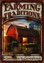 FARMING TRADITIONS Dogs Playing Poker, Batman, Bettie Page, Marilyn Monroe, Elvis, Indian Motorcycles, Three Stooges, Marvel, Superman, Spiderman, Iron Man, Captain America, Phillips 66, Farmall, Don?t Tread on Me, Ducks Unlimited, Louisville Slugger, Dukes of Hazard, Flintstone?s. Cowboy by Choice, Cowgirl by Choice, I Love Lucy, Moon Pie, Winchester Rifles, Colt 45, Budweiser, Vince Lombardi, Fender Stratocaster, Ford, Chevy, Mustang, Remington, Jack Daniels, Smith & Wesson, Wizard of Oz, Schonberg, Coke, Coca Cola, Budweiser, Jim Beam, Route 66, Corvette, Ford, I Love Lucy