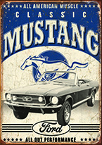 CLASSIC MUSTANG Dogs Playing Poker, Batman, Bettie Page, Marilyn Monroe, Elvis, Indian Motorcycles, Three Stooges, Marvel, Superman, Spiderman, Iron Man, Captain America, Phillips 66, Farmall, Don?t Tread on Me, Ducks Unlimited, Louisville Slugger, Dukes of Hazard, Flintstone?s. Cowboy by Choice, Cowgirl by Choice, I Love Lucy, Moon Pie, Winchester Rifles, Colt 45, Budweiser, Vince Lombardi, Fender Stratocaster, Ford, Chevy, Mustang, Remington, Jack Daniels, Smith & Wesson, Wizard of Oz, Schonberg, Coke, Coca Cola, Budweiser, Jim Beam, Route 66, Corvette, Ford, I Love Lucy